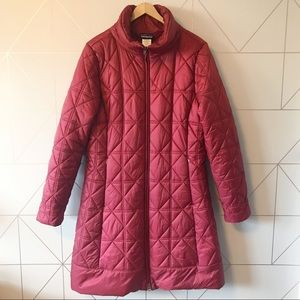 Patagonia Low Sky Puffy Quilted Parka Size XL